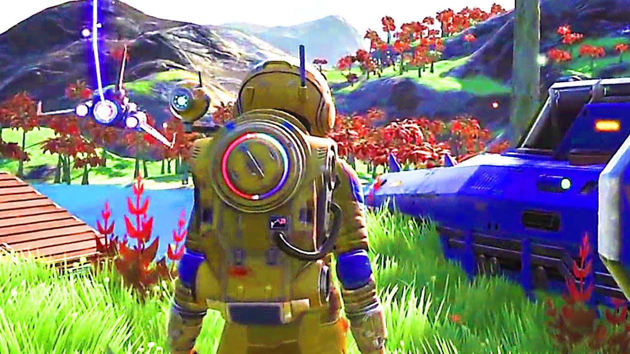 NO MAN'S SKY Next Trailer (2018) PS4 / Xbox One / PC