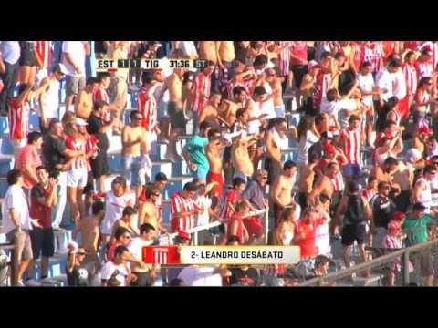 Con 10 durante 75 minutos, Tigre aguantó y se llevó un punto ante Estudiantes