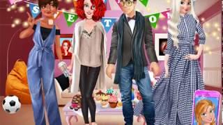 Мультик игра Принцессы Диснея: Новоселье Ариэль и Эрика (Princess Housewarming Party)