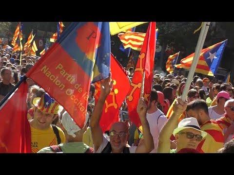 Lo PNO a la Diada del Si Barcelona lo 11 09 2017