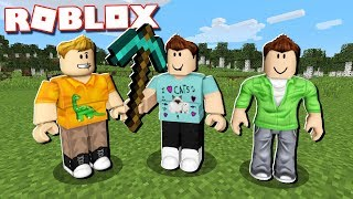 ROBLOX + MINECRAFT SIMULATOR! (Level 9999)