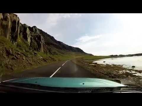 Iceland Drivelapse Höfn to Egilsstaðir I