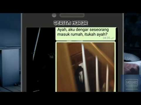 Chat WA Horor Teror Orang Asing