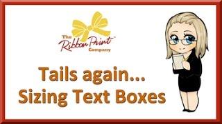 Ribbon Printing - Sizing Text Boxes Equally