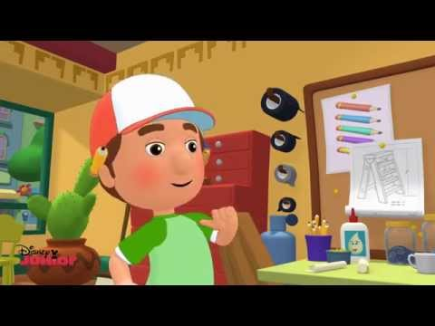 Handy Manny and the 7 Tools - Song - Official Disney Junior UK HD