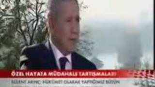 """""""Zinayı Suç Olmaktan AKP Çıkardı!"""" Dedi ve Tartışmalara Son Noktayı Koydu Arınç!"""