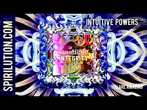 ★Intuitive Powers : Inner Voice Awakening Formula★  (Brainwave Entrainment Intent Frequencies)