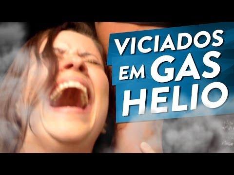 VICIADOS EM GÁS HÉLIO