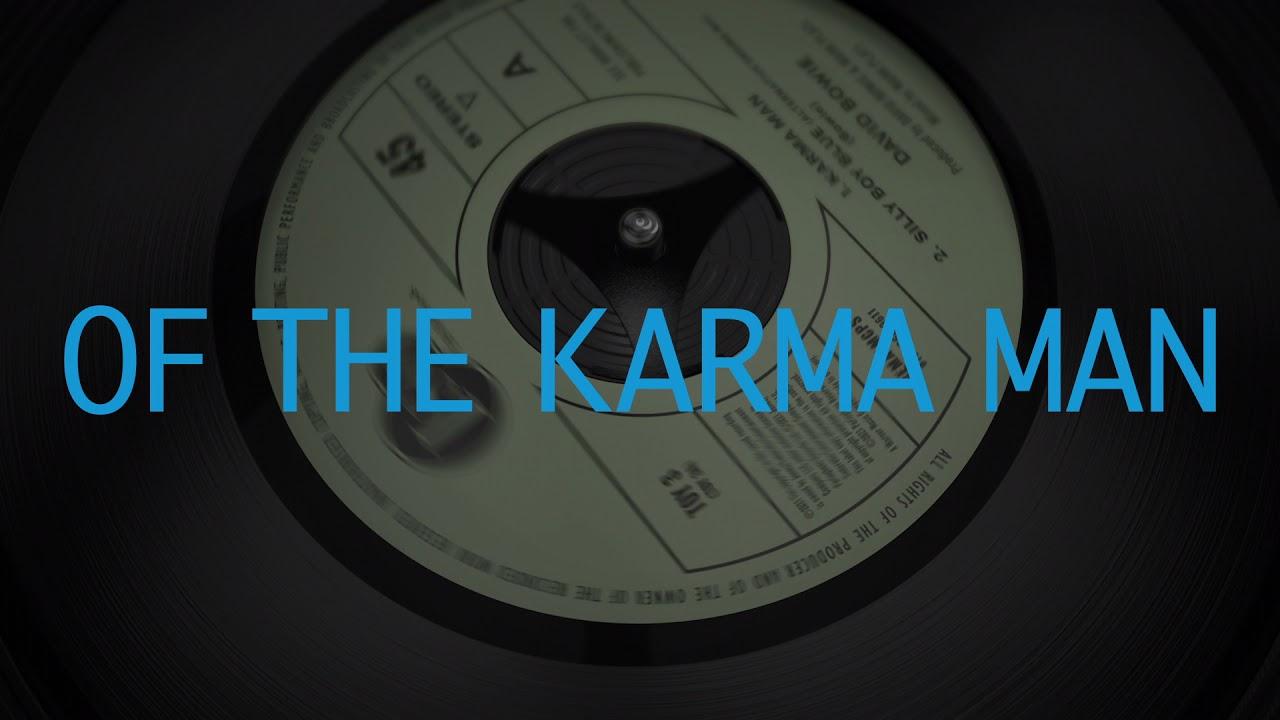 David Bowie - Karma Man [Official Lyric Video]