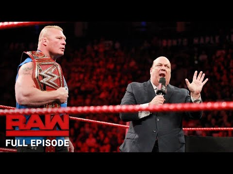 WWE RAW Full Episode - 7 August 2017