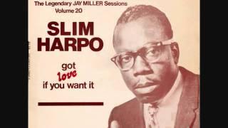 SLIM HARPO -  THE LEGENDARY JAY MILLER SESSIONS - 4 SONGS - PART 1
