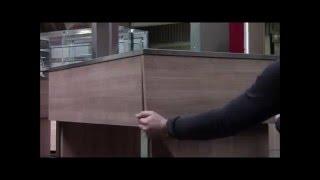 AFINOX - Meuble de présentation : Montage rampe buffet