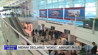 Chicago's Midway is the `worst` airport in US, travel site says