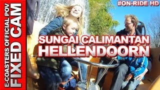 Sungai Kalimantan - Avonturen Park Hellendoorn | On-Ride (ECam HD)
