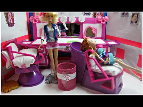diy doll hair salon - shampoo