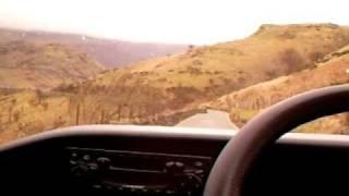 driving from llyn gwynant to pen y gwyrd hotel