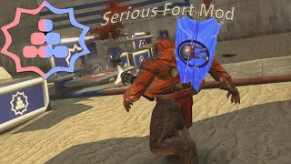Serious Sam Fusion | Base Building Capture The Flag Event (Serious Forts Mod)