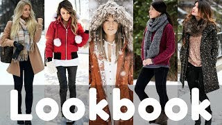 MAR 2018: Winter to Spring Dresses & Outfit Ideas 2018 Lookbook | Snow Outfits