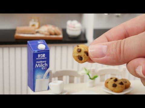 Die kleinsten Cookies der Welt | Mini Chocolate Chip Cookies | Tiny Cooking / Tiny Baking