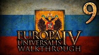 Прохождение Европа 4 за Московию(Россию). Часть 9 [Северная война]