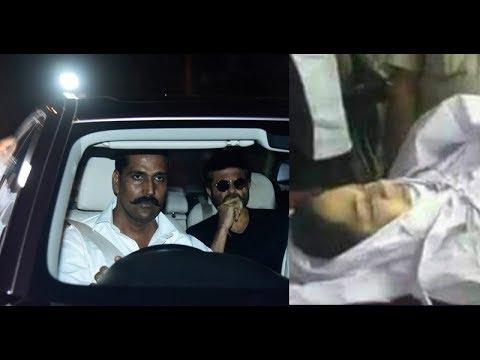 FULL VIDEO : Anil Kapoor & Ambani Family On Airport To Receive Sridevi' Body
