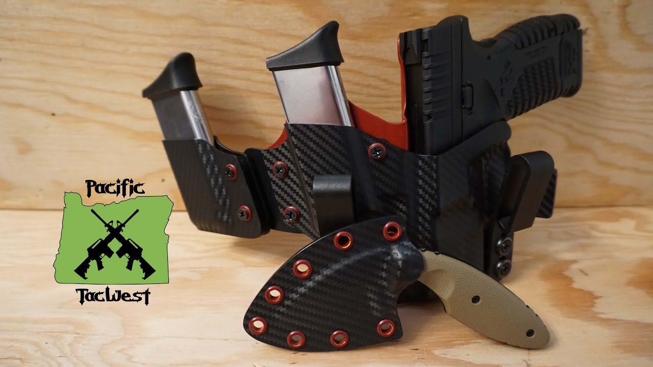 Tac-Lab MTR Holster - Double Mag Caddy: My new EDC custom Appendix Carry  (AIWB) Holser from Tac-Lab