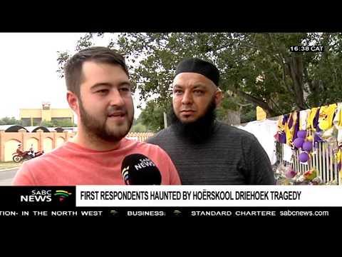 Emotions still run high following the Hoërskool Driehoek collapse