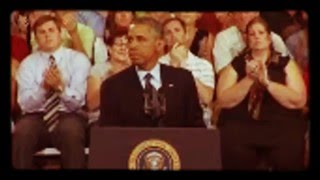 "Obama says ""We Love Dick"" & later quotes Carl Sandburg at Knox College Galesburg IL 2013"