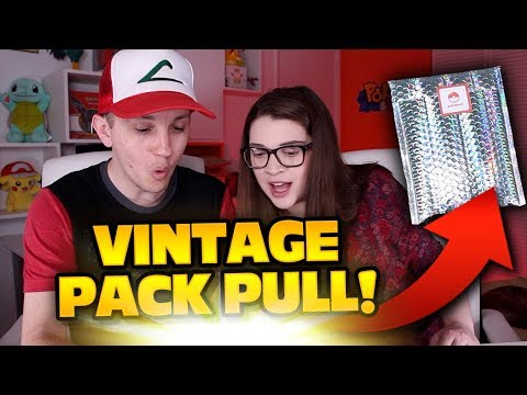VINTAGE POKEMON PACK PULL!! PokeMail TCG Subscription. Mystery Power Box's Competition?