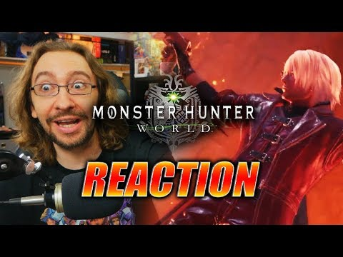 MAX REACTS: Devil May Cry X Monster Hunter - Trailer thumbnail