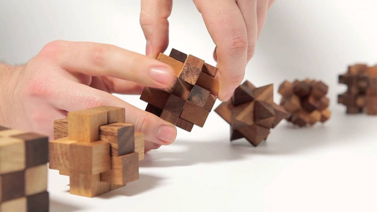 Holz Rätsel