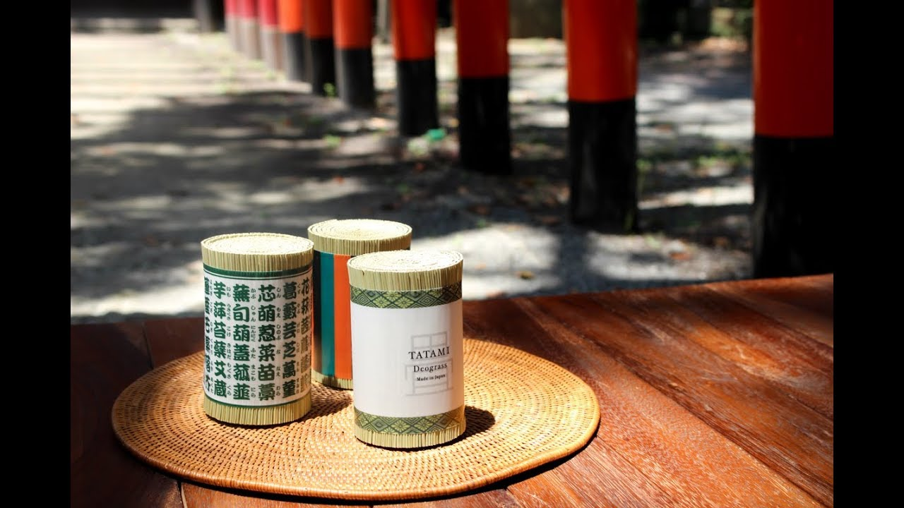 DEO-GRASS: Tatami Air Freshener (natural & vegan)