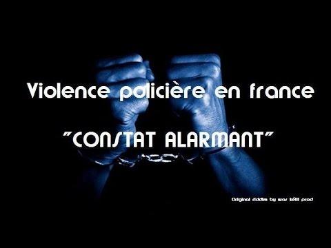 "police violence in France ""FINDING ALARMANT☢"""