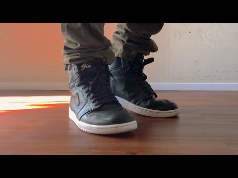 c34809c27c8ffd Jordan 1 High OG Cyber Monday On Feet - YouTube