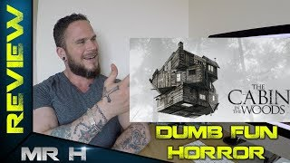 THE CABIN IN THE WOODS MOVIE REVIEW - Dumb Fun Horror