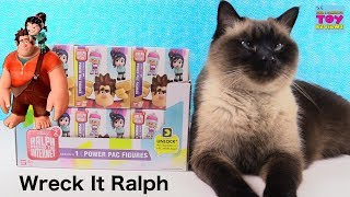 Disney Wreck It Ralph Breaks The Internet Movie Power Pac Figures Unboxing | PSToyReviews
