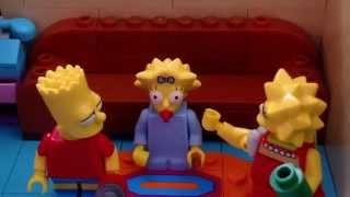 Lego StopMotion Remakes: Simpsons Burping Contest