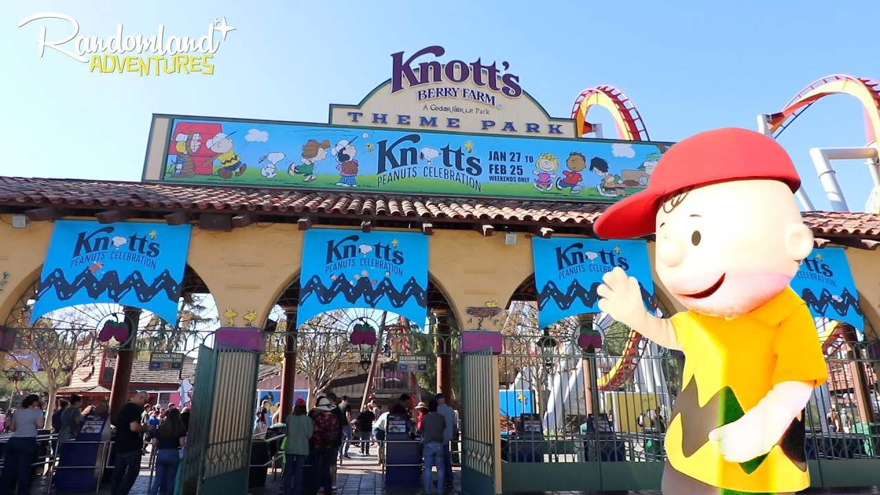 855e66000c PEANUTS Celebration at Knott s Berry Farm! - YouTube