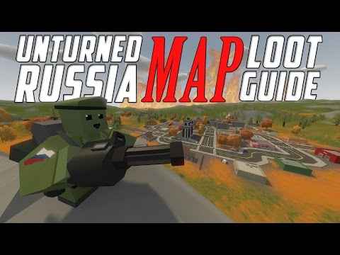 Unturned: Russia Map Loot Guide [All Locations]