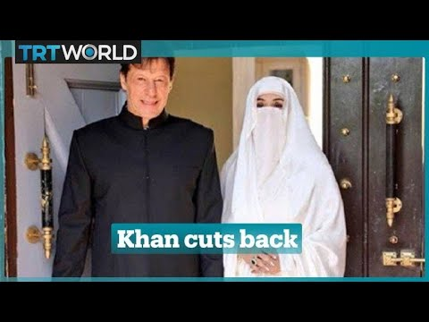 Veil sparks spat as Imran Khan sworn in