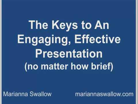 Webinar   The Keys to an Effective, Engaging Presentation