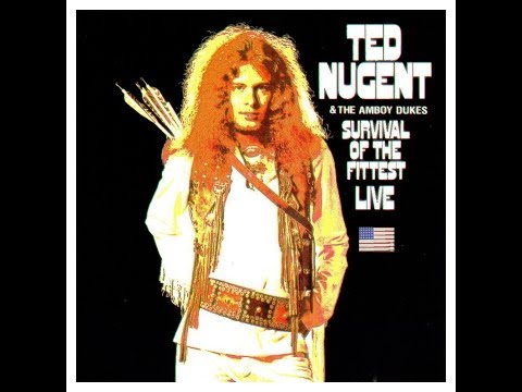 Ted Nugent & The Amboy Dukes - Survival of the Fittest (1970 vinyl rip) 🇺🇸 Hard Rock/Heavy Psych