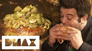 Adam Dares To Try Out The Burger From Hell! | Man V Food