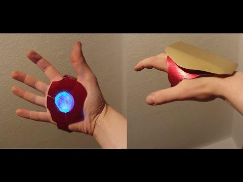 HALLOWEEN DIY: 5$ Iron Man Repulsor in 10 Minutes