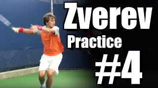Alexander Zverev | Forehand and Backhand #4 | Western & Southern Open 2014