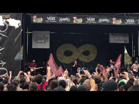 Dance Gavin Dance - FULL SET [Live HD] - Vans Warped Tour (Mountain View, CA 8/4/17)
