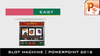 The Slot Machine | Motion Graphics Tutorial in PowerPoint 2016