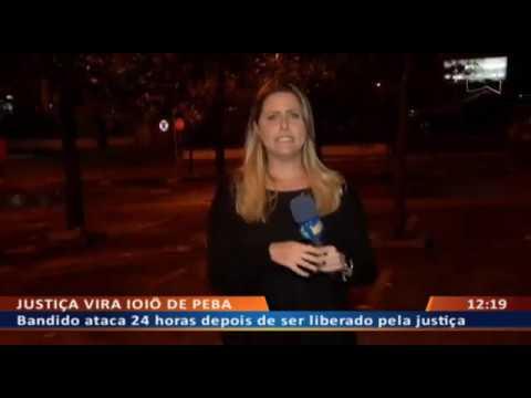 DF ALERTA - Bandido ataca 24 horas depois de ser liberado pela justiça