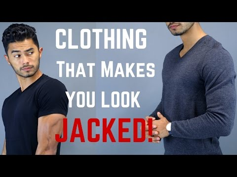 5 Clothing Items That Make You Look More Muscular