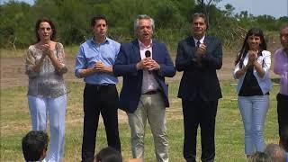 EN VIVO_El presidente Alberto Fernández y el gobernador Jorge Capitanich entregan viviendas en Chaco